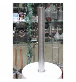 Царга (пустая) под кламп 1.5 дюйма (38 мм) для самогонного аппарата