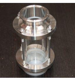 Диоптр Алкаш (кламп 2 дюйма) трубный для самогонного аппарата (дистиллятора)