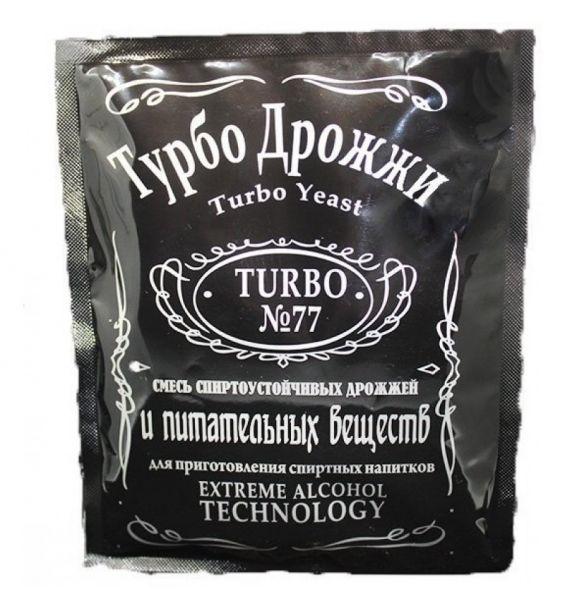 Дрожжи спиртовые Турбо 77 (turbo 77) 120 гр