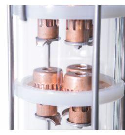 Колпачково-тарельчатая колонна из меди D120(кламп 2 дюйма), от 4 до 7 тарелок