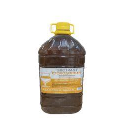 """Жидкий неохмеленный солодовый экстракт Домашняя Мануфактура """"Ячмень для виски"""" 3,9 кг"""