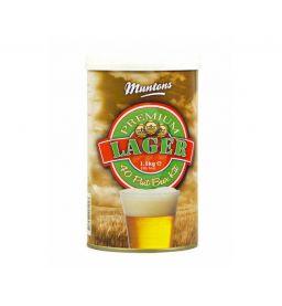"""Солодовый экстракт Muntons """"Lager"""" 1,5 кг"""