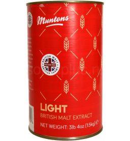 """Жидкий неохмеленный солодовый экстракт Muntons """"Light"""" 1,5 кг"""