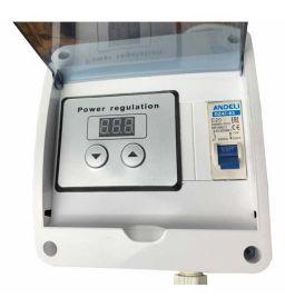 Цепь Тополь : ТЭН 3 кВт кламп 2 дюйма + регулятор 4 кВт